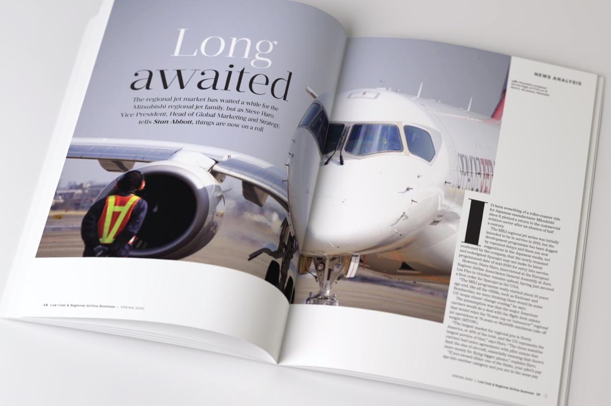 Low Cost & Regional Airline Business Magazine